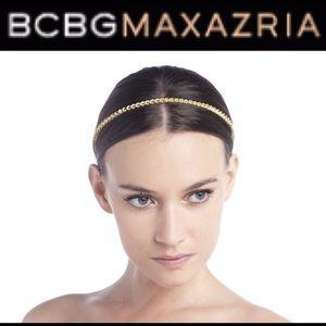 BCBGMaxAzria Gold Chainlink Headband